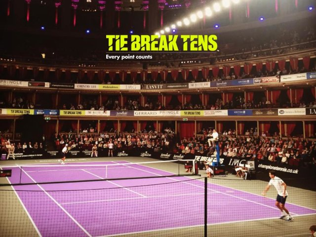 Теннис. Tie Break Tens. Royal Hall