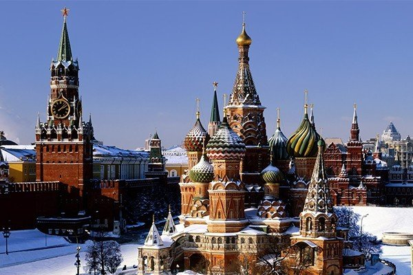 Destination Russie/Moscou